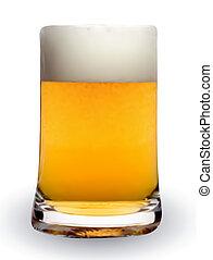 Beer Mug. Vector