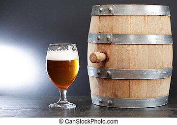 Beer Near Barrel