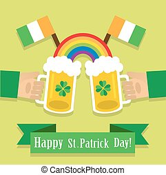 beer on St. Patrick's Day