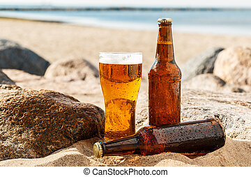 Beer on the beach