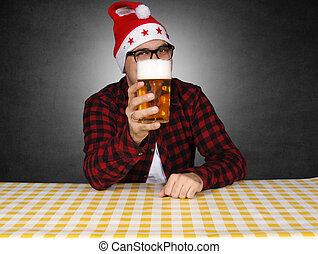 Beer present