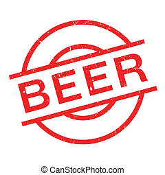 Beer rubber stamp