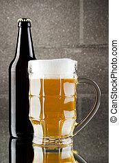 Beer still life
