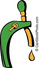 Beer tap icon, icon cartoon - Beer tap icon in icon in...
