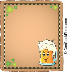Beer theme parchment 1