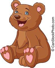 beer, zittende