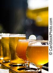 Beers  - image of several beers