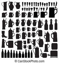 Beerware silhouettes