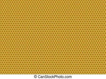bee's honeycomb illustration