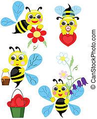Bees set.