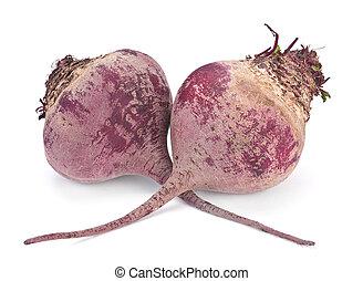 Beet root vegetable - Ripe beet root vegetable isolated on ...