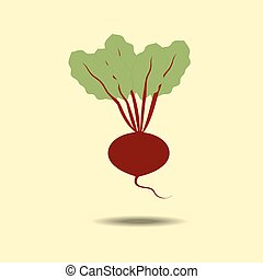 Beet Vegetable Icon