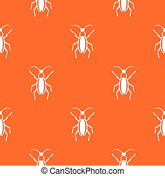 Beetle bug pattern seamless