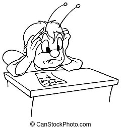 Beetle in School