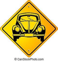 Beetle Oldtimer Sign