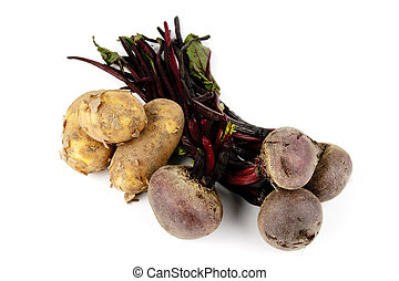 Beetroot and Potato