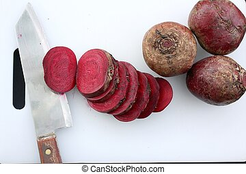 Beetroot. - Close-ups of fresh beetroot.