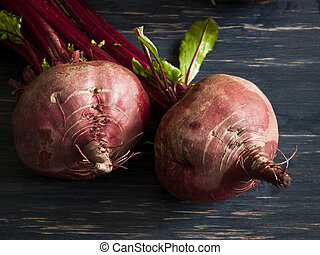 Beetroot - Ingredients for cooking Russian and ukrainian red...