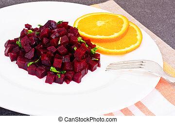 Beetroot Salad with Orange