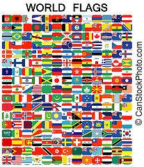 befejez, állhatatos, közül, zászlók