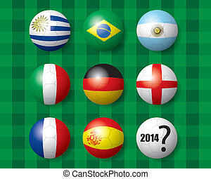 beflaggen football, meister