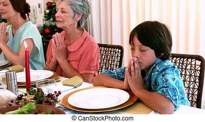 befor, grâce, famille, proverbe, prolongé