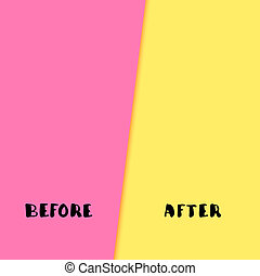 before and after template background before and after vector