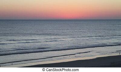 Before the sunrise Daytona Beach FL