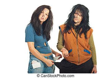 Beggars women