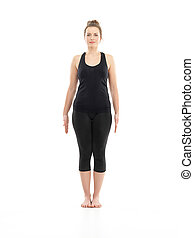 begginer, postura, yoga, fácil