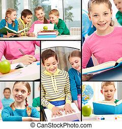 Beginners in school