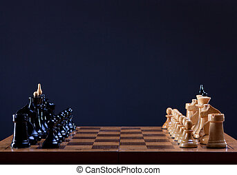 beginning of chess game