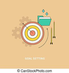 Beginning of the Business Process is Goal Setting