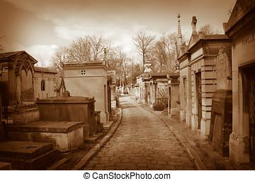 begraafplaats, pere lachaise