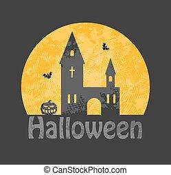 begraafplaats, spookthuis
