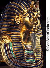 begrafenis, masker, tutankhamun's