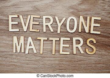 begreb, breve, firma, af træ, lighed, substanser, everyone, baggrund, respekt