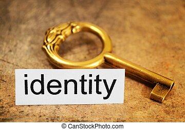 begreb, identitet