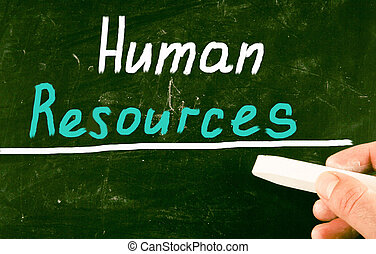 begreb, menneskelige ressourcer