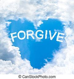 begreb, natur, genert, tilgi, berette, sky