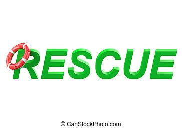 begreb, redning