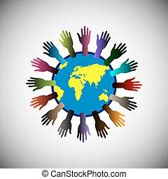 begreb, suppor, rejsning, frivillig