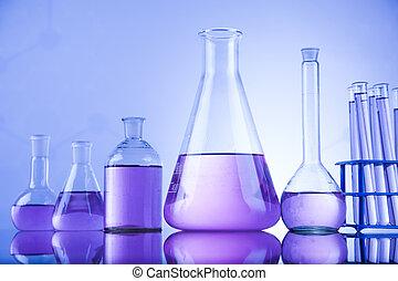 Begreb, Videnskab,  glassware, Kemisk, Laboratorium