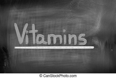 Begreb, Vitaminer