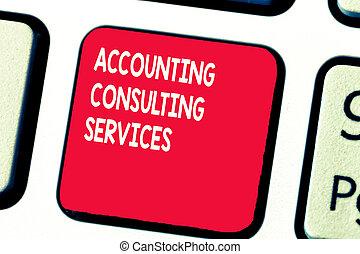 begrebsmæssig, skriv ræk, viser, bogholderi, rådgivende, services., firma, fotografi, tekst, forberedelse, ofperiodic, finansielle, statements