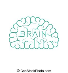 begrepp, 10, tråd, elektrisk, kabel, färg, text, utrymme, isolerat, illustration, eps, hjärna, vektor, grön, koppla samman, bakgrund, design, vit, avskrift
