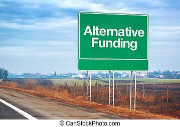 begrepp, Finansiering, affär, underteckna,  entrepreneurship, alternativ, väg