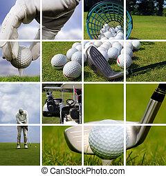 begrepp, golf