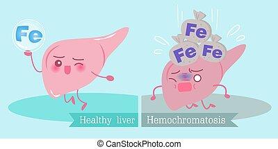 begrepp, hälsa, lever
