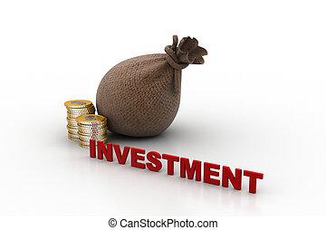 begrepp, investering